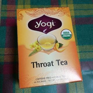 ❰yogi❱ヨギティーオーガニックスロートティー(茶)