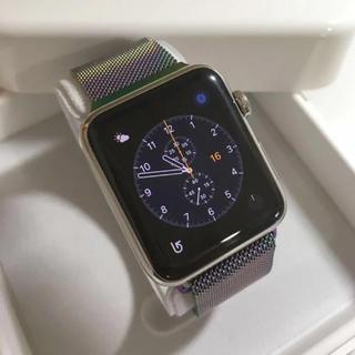アップルウォッチ(Apple Watch)の未使用品 Apple Watch 42mm(その他)