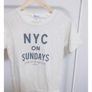 オールオーディナリーズ(ALL ORDINARIES)のt shirt(Tシャツ(半袖/袖なし))