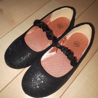 ジーユー(GU)のラメ入りフォーマル 靴(フォーマルシューズ)