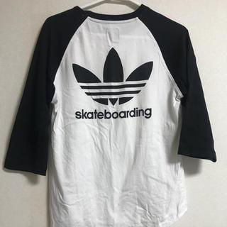 アディダス(adidas)のadidas ラグラン(Tシャツ/カットソー(七分/長袖))