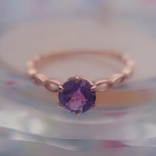 クミキョク(kumikyoku(組曲))の組曲 K10 アメジストリング(リング(指輪))