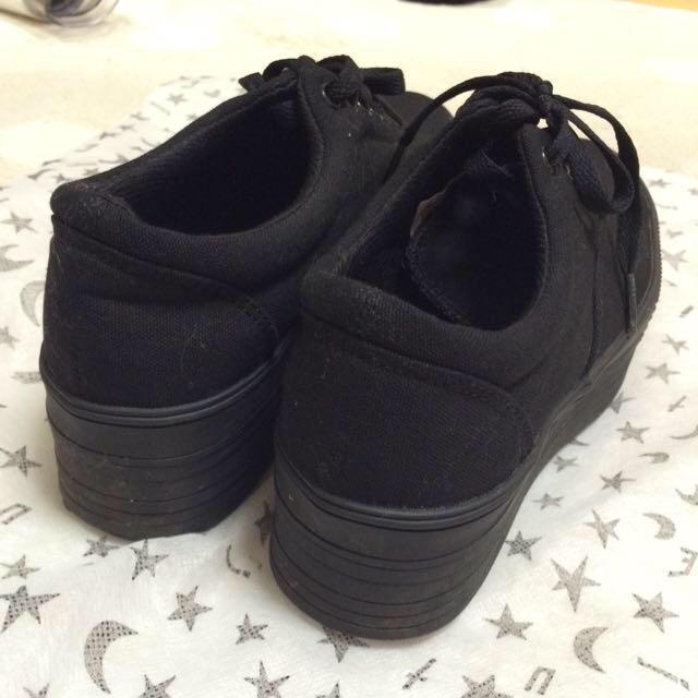 ENVYM(アンビー)の厚底スニーカー黒 とまと様 レディースの靴/シューズ(スニーカー)の商品写真