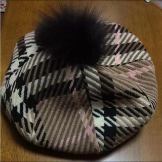 バーバリー(BURBERRY)のバーバリー ベレー帽(ハンチング/ベレー帽)