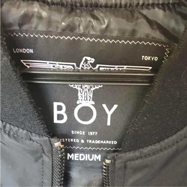Boy London(ボーイロンドン)のboylondon  ma-1 メンズのジャケット/アウター(ブルゾン)の商品写真