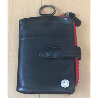 タフ(TOUGH)のtough タフ ブラック 二つ折 革財布 サイフ ウォレット対応(折り財布)
