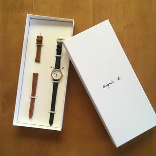 アニエスベー(agnes b.)のagnes b. 腕時計 箱付き 保証書付き(腕時計)