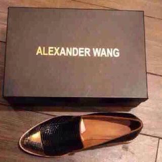 アレキサンダーワン(Alexander Wang)のAW 2015春新作  新品(ローファー/革靴)