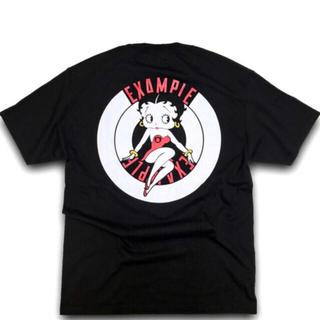シュプリーム(Supreme)の送料無料 EXAMPLE BETTY BOOP ROUND LOGO TEE L(Tシャツ/カットソー(半袖/袖なし))