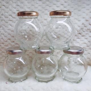 5個セットハーバリウム テラリウム ボトル 瓶 味彩(その他)