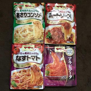 ニッシンセイフン(日清製粉)のマ・マ〜 パスタソース 4袋セット(レトルト食品)