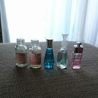 クリスチャンディオール(Christian Dior)のミニ香水 5点セット(香水(女性用))