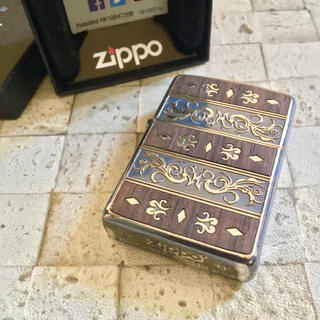 ジッポー(ZIPPO)のベネチアンウッド zippo 木製ライター ジッポ ジッポー(タバコグッズ)