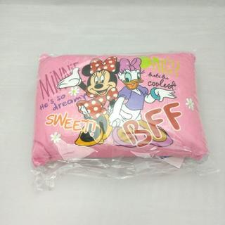 ディズニー(Disney)の【新品・送料無料】 ミニー&デイジー パイル地低反発チップ枕 約35×25cm(枕)