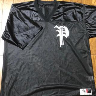 プラスエイトパリスロック(=+8PARIS ROCK)の+8 PARIS ROCK TOKYO メッシュシャツ(Tシャツ/カットソー(半袖/袖なし))