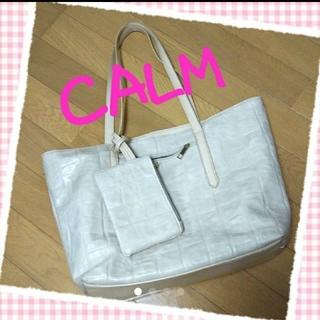 カーム(CALM)のCALM♡トートバッグ(トートバッグ)