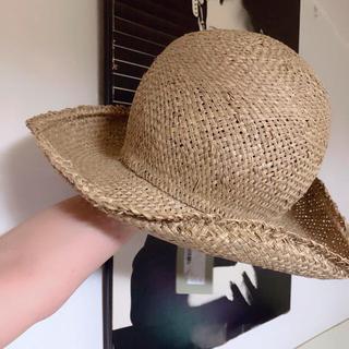 ヴィヴィアンウエストウッド(Vivienne Westwood)のSALE セール ヴィヴィアン  ウエストウッド ワールズエンド 麦わら 帽子(麦わら帽子/ストローハット)
