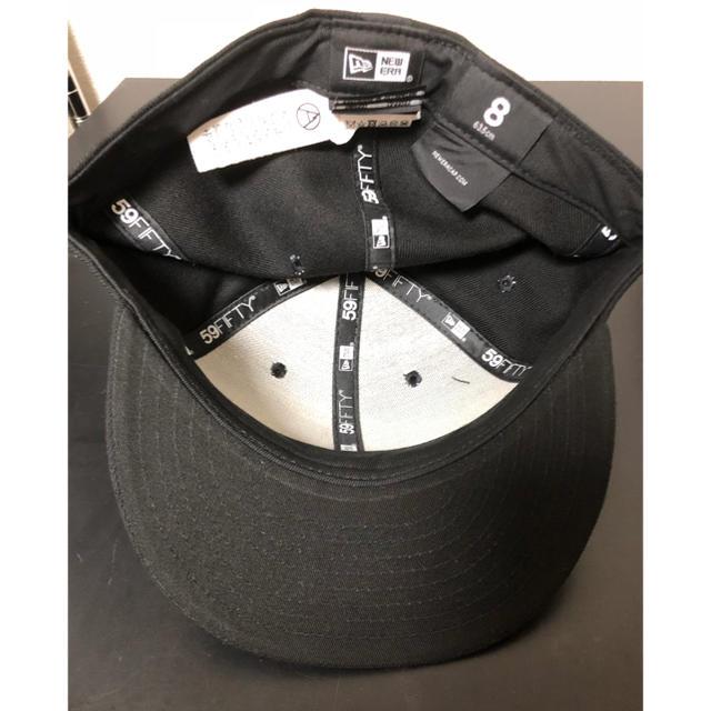 MOUNTAIN RESEARCH(マウンテンリサーチ)のマウンテンリサーチ NEWERA ニューエラ キャップ 黒 新品未使用  メンズの帽子(キャップ)の商品写真