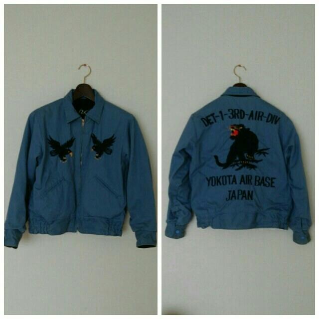 東洋エンタープライズ(トウヨウエンタープライズ)のo-kenさま専用 テーラー東洋 襟付き別珍ツイルスカジャン メンズのジャケット/アウター(スカジャン)の商品写真