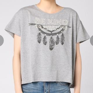 エーアイシー(A・I・C)のA.I.C 半袖刺繍カットソー(Tシャツ(半袖/袖なし))