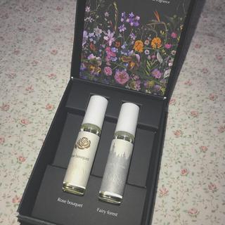 HANA オーガニック クリスマス フレグランスオイルセット(香水(女性用))