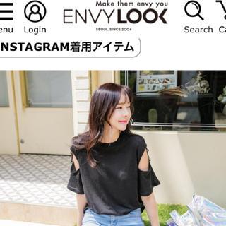 エンビールック(ENVYLOOK)のenvylook スリーブTシャツ(Tシャツ(半袖/袖なし))