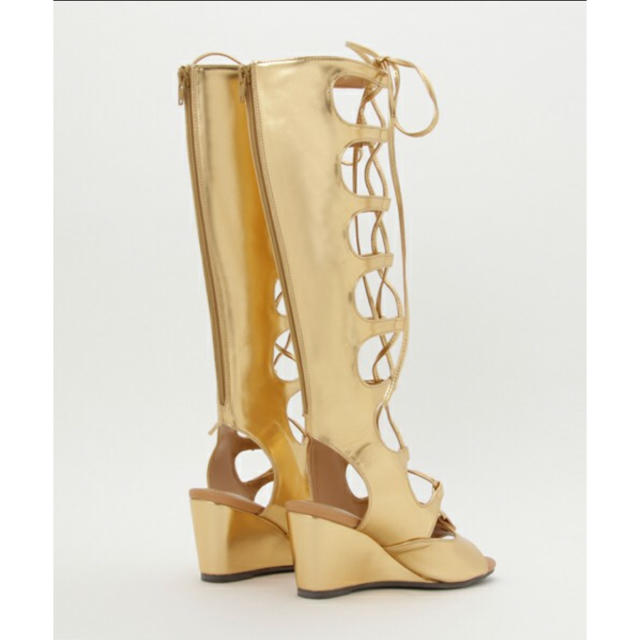 RODEO CROWNS WIDE BOWL(ロデオクラウンズワイドボウル)のLONG LACE UP サンダル レディースの靴/シューズ(サンダル)の商品写真