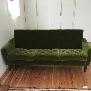 カリモクカグ(カリモク家具)のむぎ様専用 カリモク60 ロビーチェア 3シーター(三人掛けソファ)