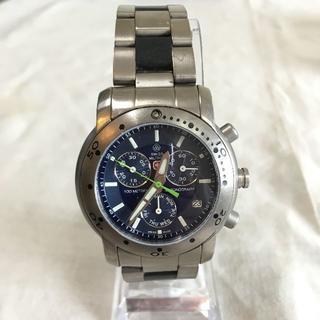 スイスミリタリー(SWISS MILITARY)の【スイスミリタリー SWISS MILITARY】腕時計 クロノグラフ スイス製(腕時計(アナログ))