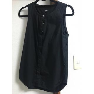 ルシェルブルー(LE CIEL BLEU)のルシェルブルーノースリーブシャツ(シャツ/ブラウス(半袖/袖なし))