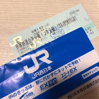 青春18きっぷ 残り一回(鉄道乗車券)
