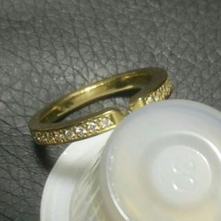 アイファニー(EYEFUNNY)のSjx ダイヤモンドリング 指輪 k18(リング(指輪))