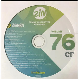 ズンバ(Zumba)のズンバCD&DVD(ダンス/バレエ)