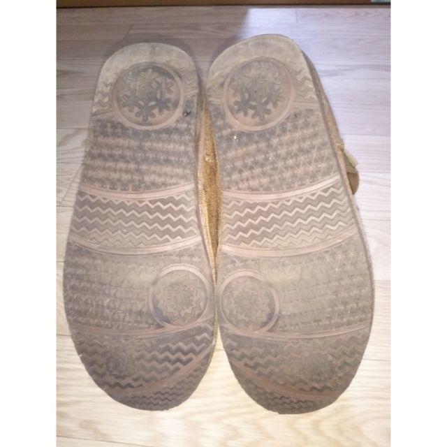 ムートンブーツ 茶色 M 23~23.5 レディースの靴/シューズ(ブーツ)の商品写真