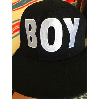 ボーイロンドン(Boy London)のBOY Londonキャップ  ブラック(キャップ)