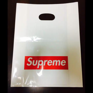 シュプリーム(Supreme)のsupreme ボックスロゴショップバックほぼ未使用 正規品 送料無料(その他)