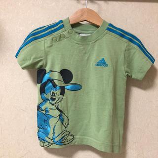 アディダス(adidas)のアディダス×ミッキー コラボTシャツ 85㎝(Tシャツ)