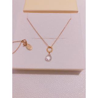 チビジュエルズ(Chibi Jewels)のchibi jewels 天然石ゴールドネックレス(ネックレス)