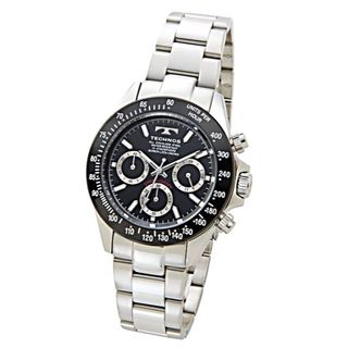 TECHNOS TSM401TB ★クロノグラフ★新品★メンズ腕時計