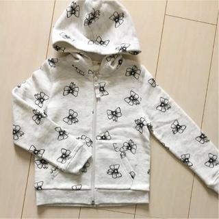 エイチアンドエム(H&M)の新品♡H&M 110/115 リボン パーカー(ジャケット/上着)