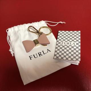 フルラ(Furla)の☆新品袋付き、テープ?ナイロン?付き フルラFURLA キーリング ピンクリボン(キーホルダー)