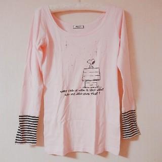 スヌーピー(SNOOPY)のDelyle SNOOPY Tシャツ(Tシャツ(長袖/七分))