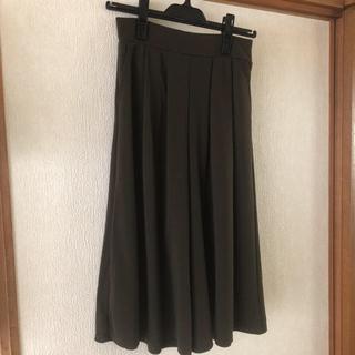 シマムラ(しまむら)のカーキ スカーチョ(キュロット)