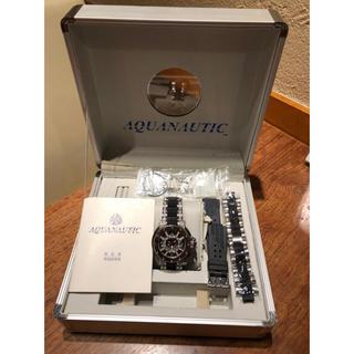 アクアノウティック(AQUANAUTIC)のアクアノウティック キングクーダ ハーフダイアベルト 付属品付き(腕時計(アナログ))