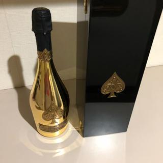 アルマンドバジ(Armand Basi)のアルマンド ブリニャック ゴールド 正規品 偽物注意(シャンパン/スパークリングワイン)