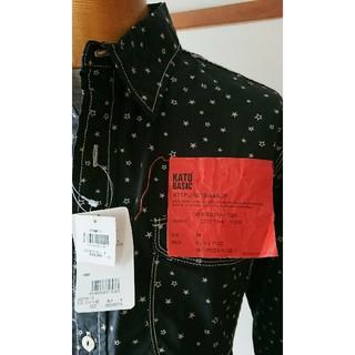 カトー(KATO`)の新品・未使用・タグ付き★KATO '星柄スターワークシャツ(シャツ)