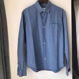 【入手困難】SANDRO ブルーシャツ
