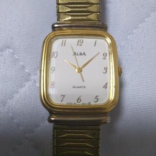 アルバ(ALBA)のALBA(アルバ) 腕時計 V321-5120 メンズ 社外ベルト 白 ジャンク(腕時計(アナログ))