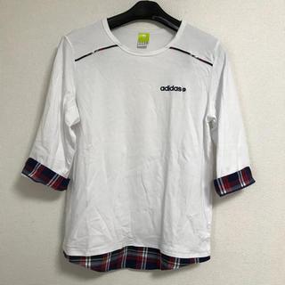 アディダス(adidas)の値下げ adidas 七分袖Tシャツ(Tシャツ/カットソー(七分/長袖))