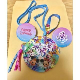 ディズニー(Disney)のディズニー 35周年 パスケース (キャラクターグッズ)